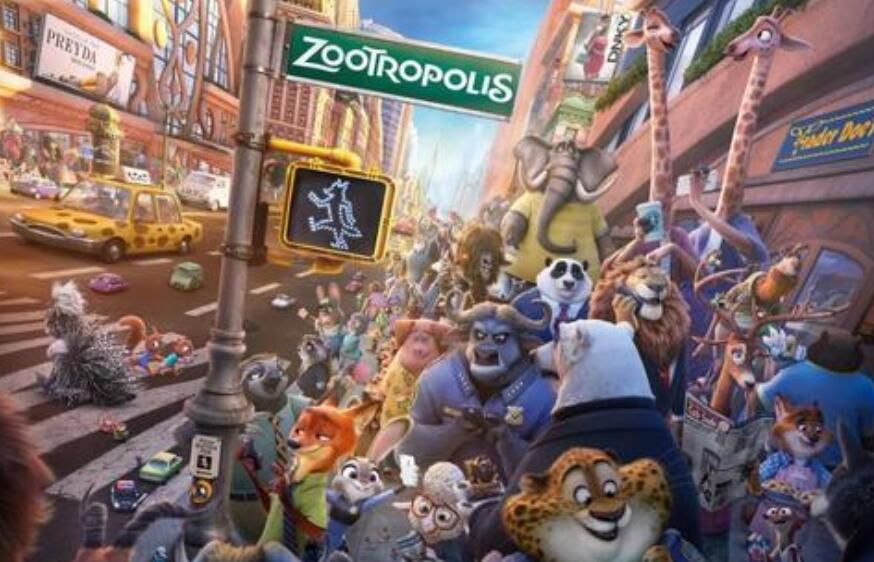 动画冒险喜剧电影《疯狂动物城》经典台词、语录