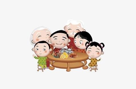 家人团聚的句子 一家人相聚温馨的句子