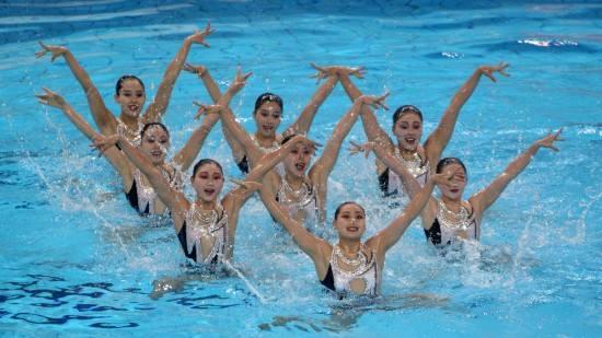 关于花样游泳唯美句子 奥运会水上芭蕾的经典句子