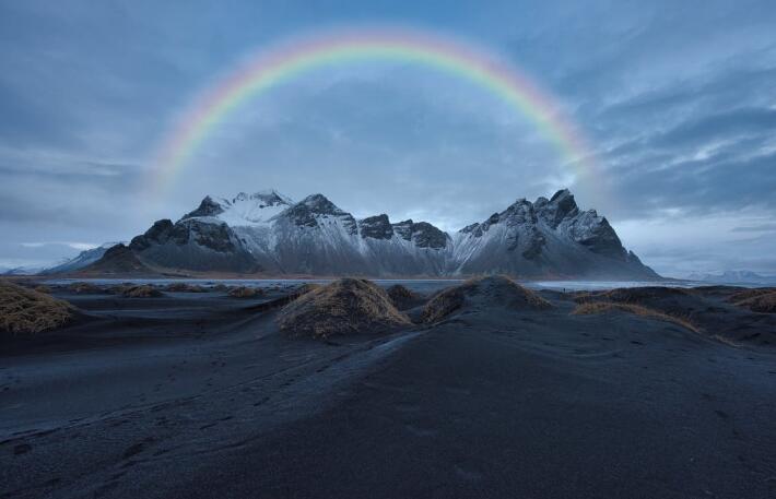 关于彩虹的唯美句子