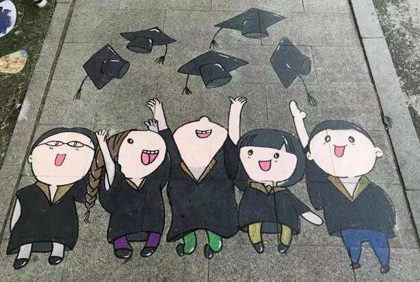 描写六月毕业的抒情句子