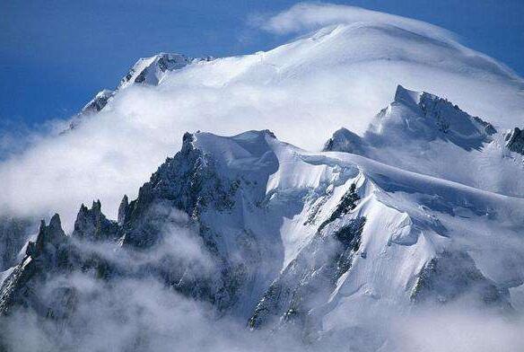 欣赏雪山的唯美句子