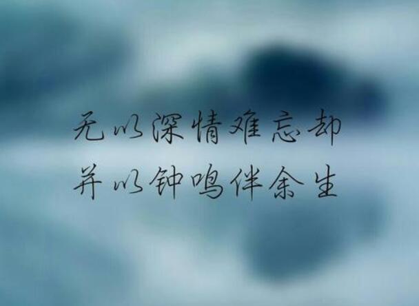 抖音比较有诗意的句子 抖音很火的文艺短句