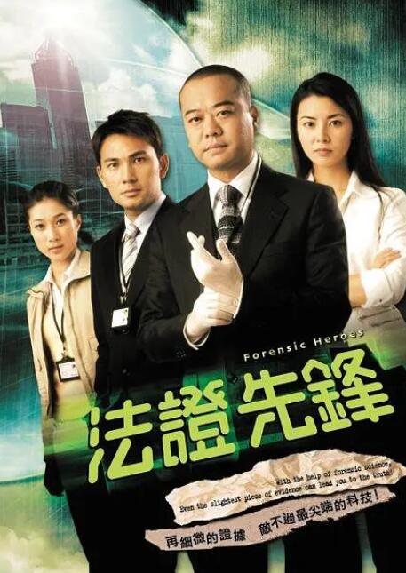 香港犯罪悬疑剧《法证先锋》经典语录和台词