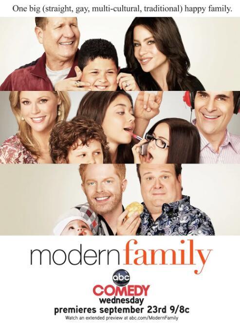 美国家庭喜剧《摩登家庭》台词和语录大全