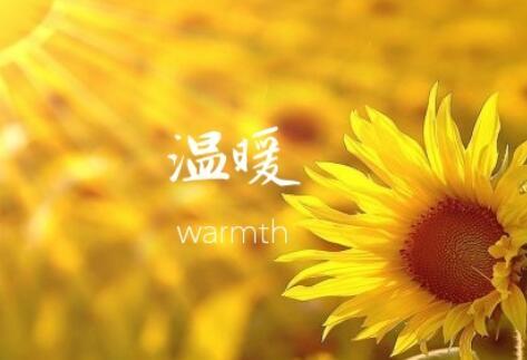 描写温暖的优美句子 带有温暖的经典句子
