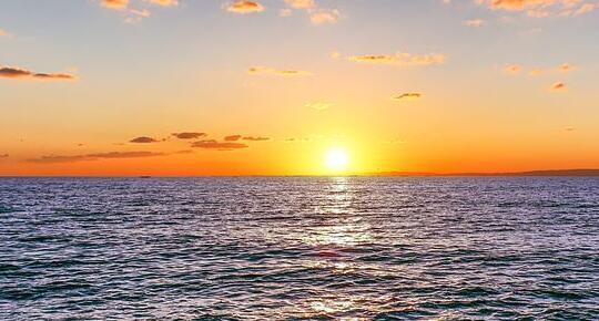 形容日落哲理的句子 日落心情说说短句