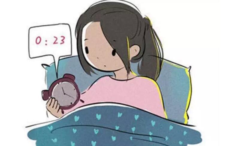 关于失眠的幽默说说 失眠睡不着的心情短语