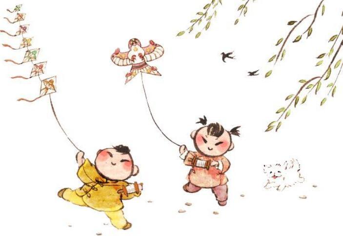 描写放风筝的优美句子 描写放风筝动作的句子