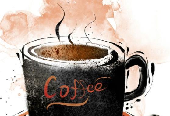 带咖啡图片的早安问候