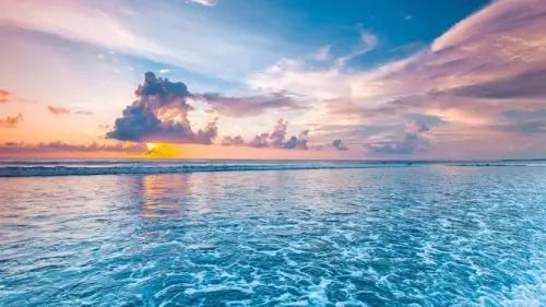形容海的唯美句子