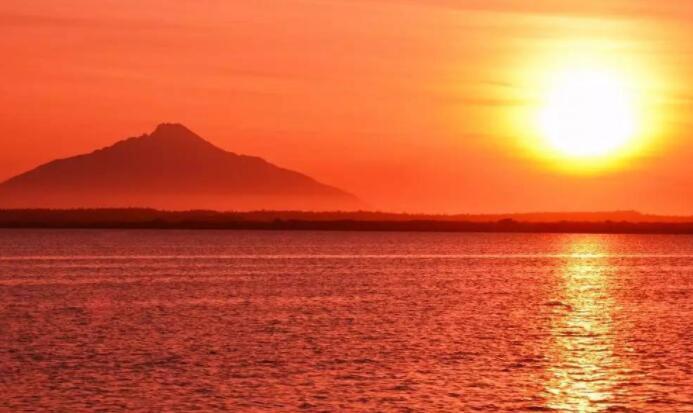描写夕阳黄昏的优美段落