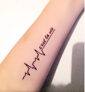 纹身英文短句爱情 求适合纹身的英文短句
