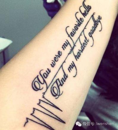 伤感纹身英文短句素材 推荐较适合纹身的伤感的英文句子。