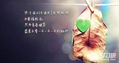 爱情英语名言名句伤感 关于爱情的英文名言,悲伤一点的