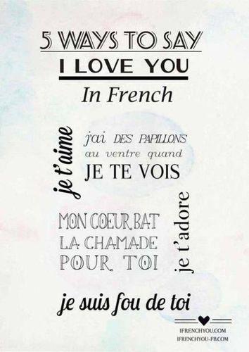 有意义的法语短句 求一些优美的法语句子