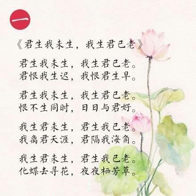 喜爱某一物品的诗句 如何通过一句诗来表达很喜欢某种东西,