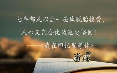给你一座城经典句子