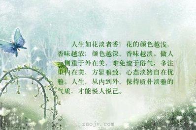 心态淡然的诗句 表示淡然人生态度的诗句