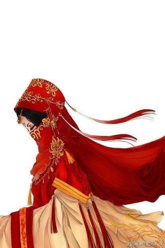 穿着嫁衣的古风句子 描写古代大红嫁衣的句子