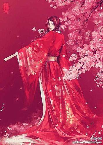 红色嫁衣唯美的句子 描写古代大红嫁衣的句子