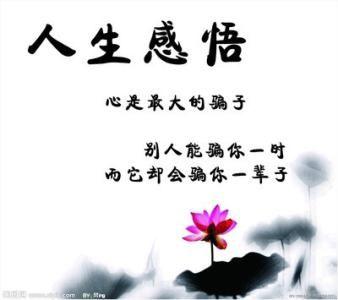有关人生感悟的名言警句 有关人生哲理的格言十个