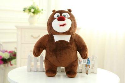 熊大熊二的说说句 光头强和熊大熊二的友情说说,快点哦