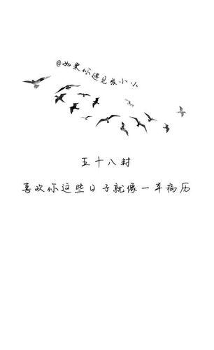 小清新说说短句八字 暖心八字短句小清新