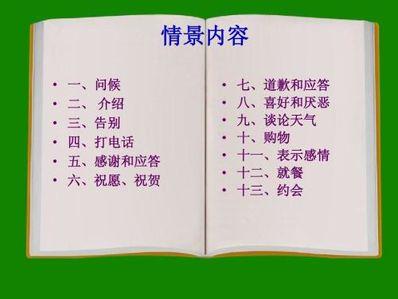 日常交际英语1000句 日常用语英语1000句