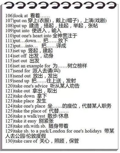 高考一共考多少英语短语 高考考纲要求记的英语短语大概有多少?