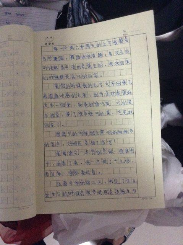 一篇英语日记五句 英语日记5句话以上