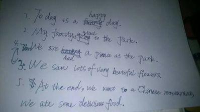 英语五句话日记大全 英语小学日记五句话,带翻译