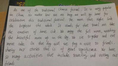 英语小作文5句话日记 英语小学日记五句话,带翻译