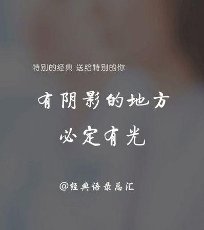 文艺诗句经典语录励志 青春文艺古风励志句子