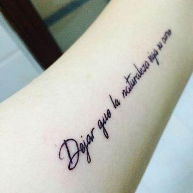英文短句纹身图案 求小臂 梵文或英文 短句纹身图片
