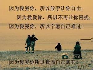 关于成全的爱情句 关于爱情成全了别人自己却很痛苦的句子