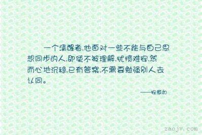 不被理解句子 古文中不被人理解,内心孤独的句子