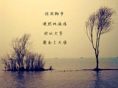 表达自己要离开的诗句
