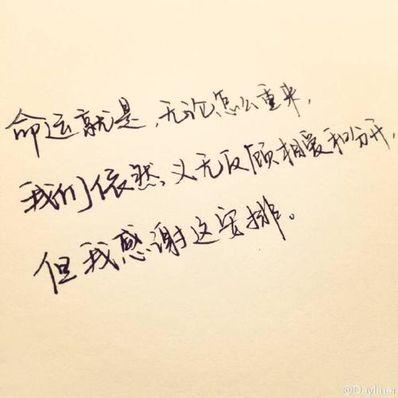 感谢遇见的句子短句 感恩短句句子