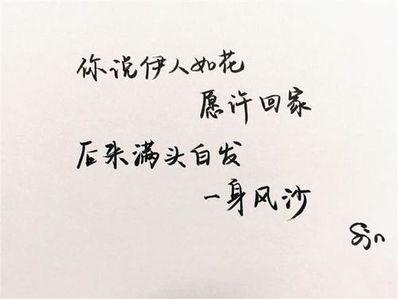 试着接受新感情的句子 因为感情开始新的生活经典句子