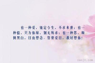 这一生只为你的句子 求歌词:这一生只为你存在