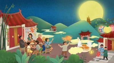 形容中秋节的优美句子 描写中秋节好词好句好段