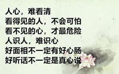 人心不齐大事难成诗句 用一句什么话来形容人心不齐