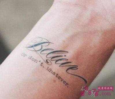 适合纹身的英文短句丧 想纹身,帮忙推荐一些适合纹身的英语短句