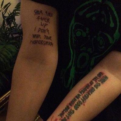 适合纹身的英文丧句 想纹身,帮忙推荐一些适合纹身的英语短句