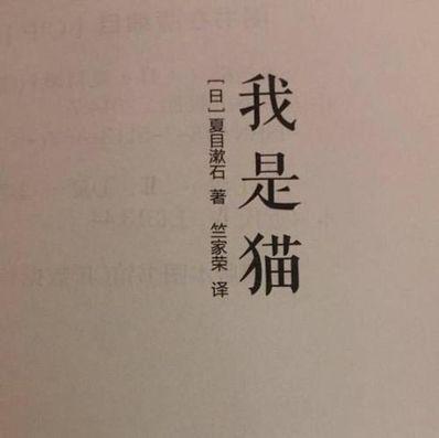 我是猫经典句子日语版