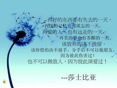 挽留爱情的句子 挽回爱情伤感句子