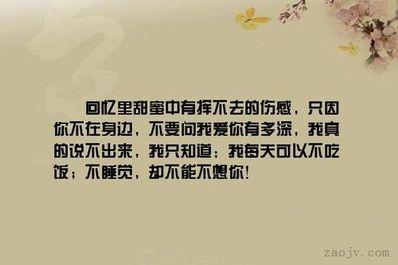 吾生挚爱的句子 关于挚爱的句子