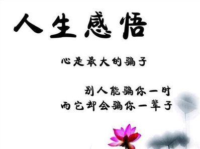 人生感悟6个字 对人生感悟的6字诗句