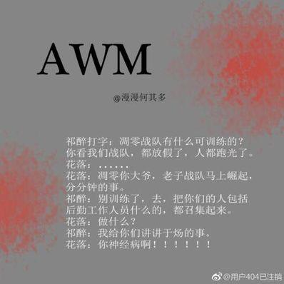 awm绝地求生小说句子 awm绝地求生txt百度云